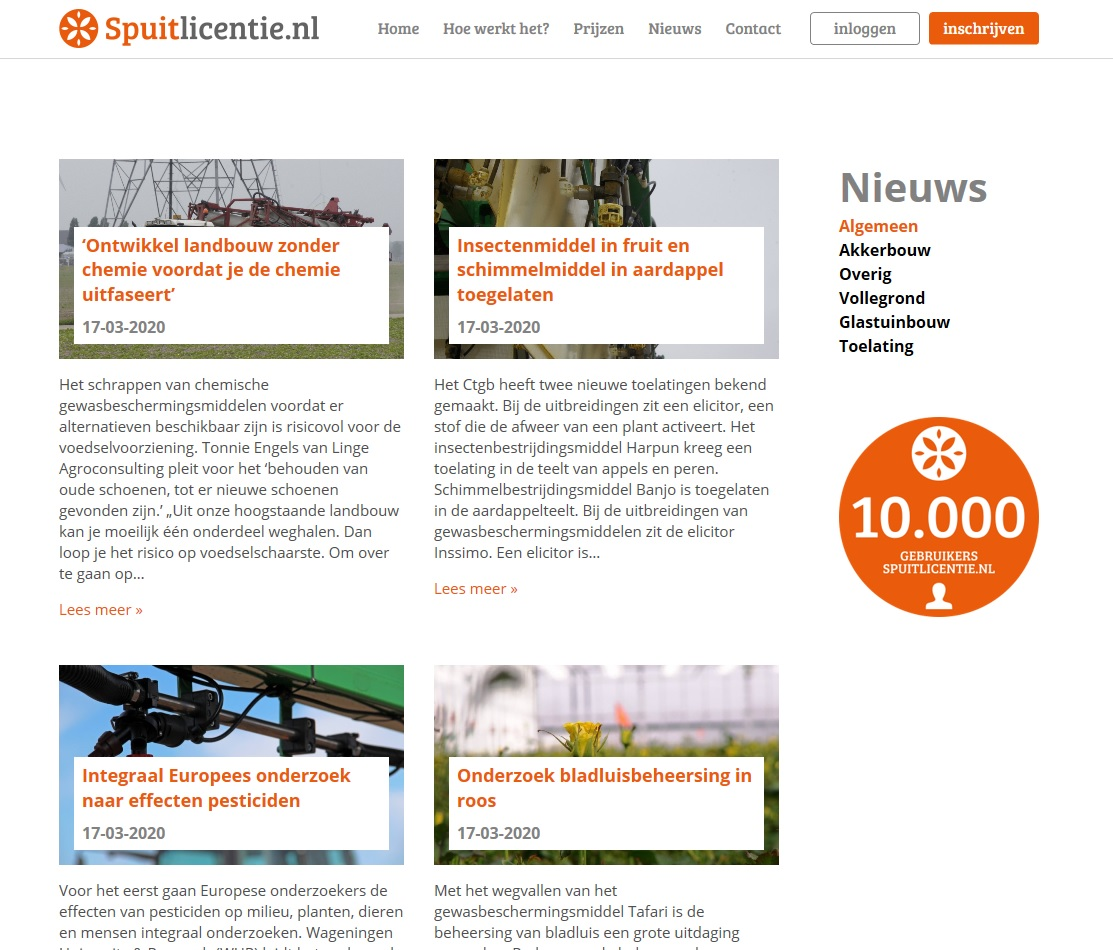 Spuitlicentie.nl